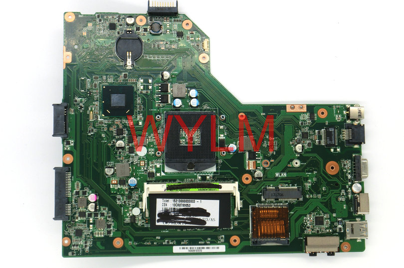 free shipping For ASUS A54C X54C K54C laptop motherboard MAIN BOARD REV 2.1 With 4GB memory 100% Tested Working Well free shipping brand original k55vm laptop motherboard main board 69n0m2m11c06 100% tested working well