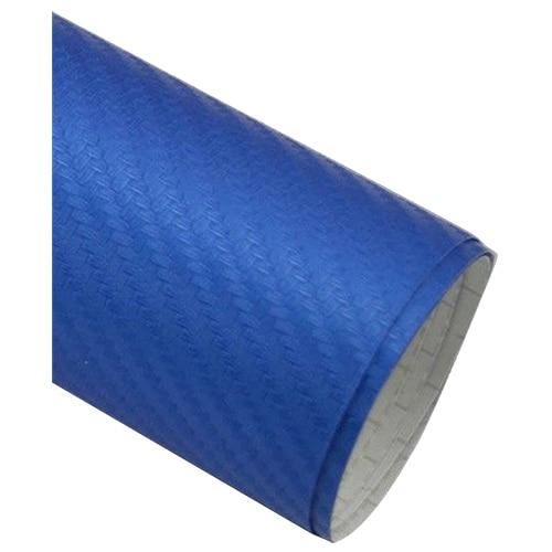 50*127cm 3D Carbon Fiber Vinyl Car Wrap Sheet Roll Film Sticker Decal Blue vehemo 20 40 50 60x152 cm 5d carbon fiber vinyl film sticker car wrap decal sheet durable universal black automobile car