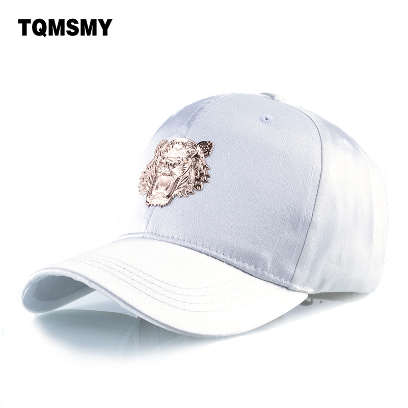 Imitation silk fabrics sun hats for women baseball cap men Tiger decoration snapback caps woman's hip hop bone Casual Casquette wholesale spring cotton cap baseball cap snapback hat summer cap hip hop fitted cap hats for men women grinding multicolor