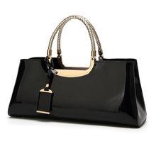 1ce92223c2f4 Высокое качество Лакированная кожа Для женщин сумка Sac основной дорожные  сумки для Для женщин 2019 сумки итальянские сумки кожа.