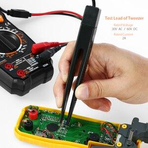 Image 4 - Meterk mk29 kits de chumbo teste eletrônico para multímetro digital tester com clipes jacaré pontas sondas substituíveis kit acessórios