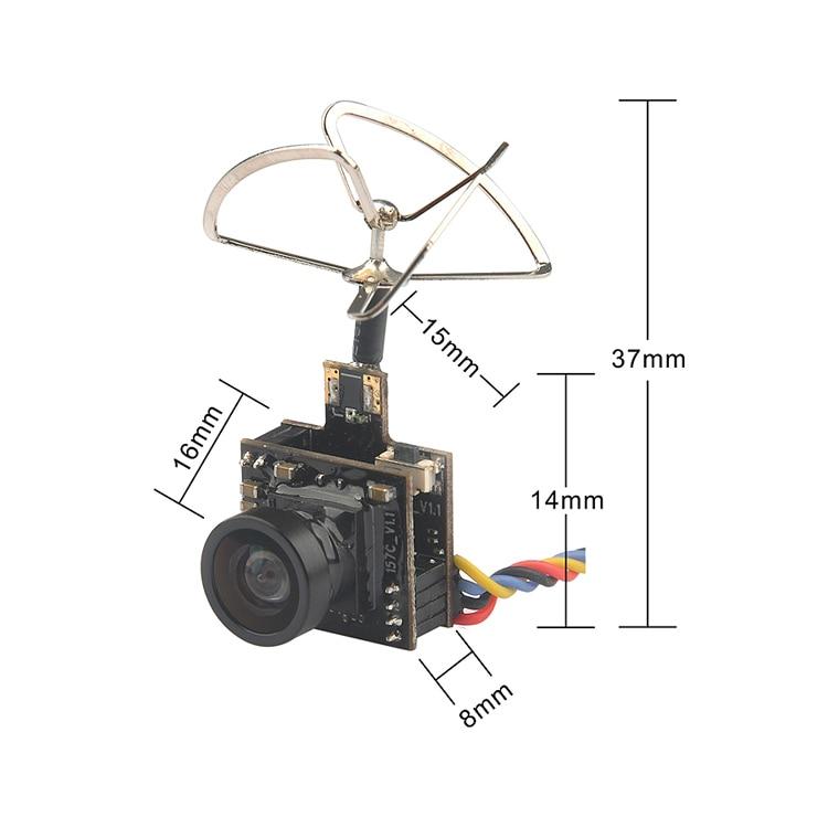 5.8GHz 25-100mW VTX + Camera