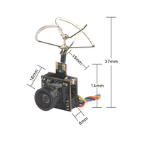 Output Power 25MW/100MW Camera 5.8G TransmitterAIO FPV VTX for Indoor Happymodel Mobula7 90mm 75mm 110mm Micro FPV Racing Drone