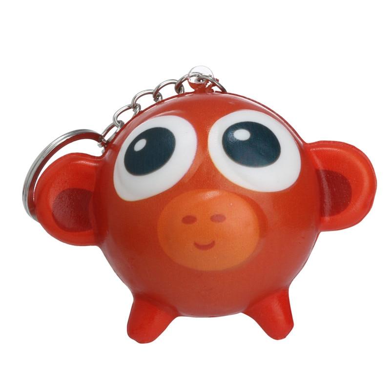 Squishies Kawaii Cartoon Animal Slow Rising Cream Scented Keychain Stress Relief Toy  Kawaii Stationery Wipes Anti-stress E1