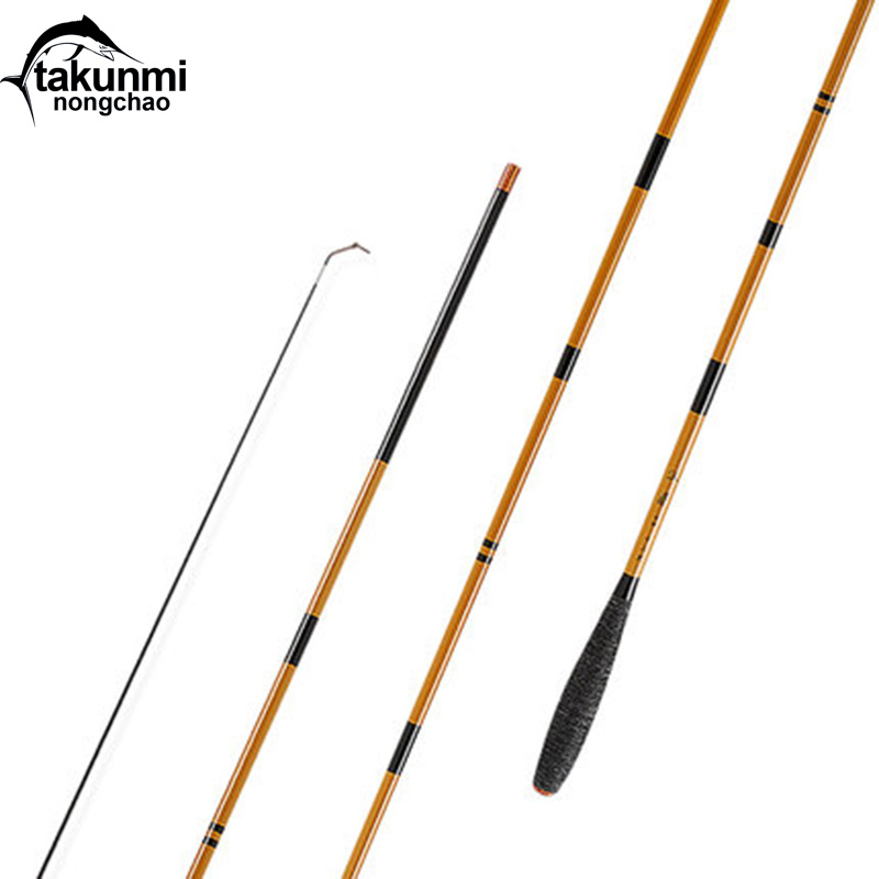 High Carbon Material SuperHard Fishing Rod 2.7-4.5M Telescopic Rod fishing Rod Taiwan Fishing Rod For big carp Fish ZG-118 ftk 99% high carbon feeder fishing rod c w 15 40g 2sec 40 90g 3sec carp rod superhard fishing rod