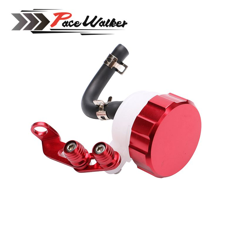 Motorcycle Front Brake Fluid Reservoir Clutch Tank Oil Fluid Cup for Aprilia Ducati Honda Kawasaki Suzuki Triumph Yamaha riz0ma cnc motorcycle brake fluid oil reservoir cup tank support bracket for ktm yamaha mt07 mt09 tmax500 530 honda yzfr3 r25