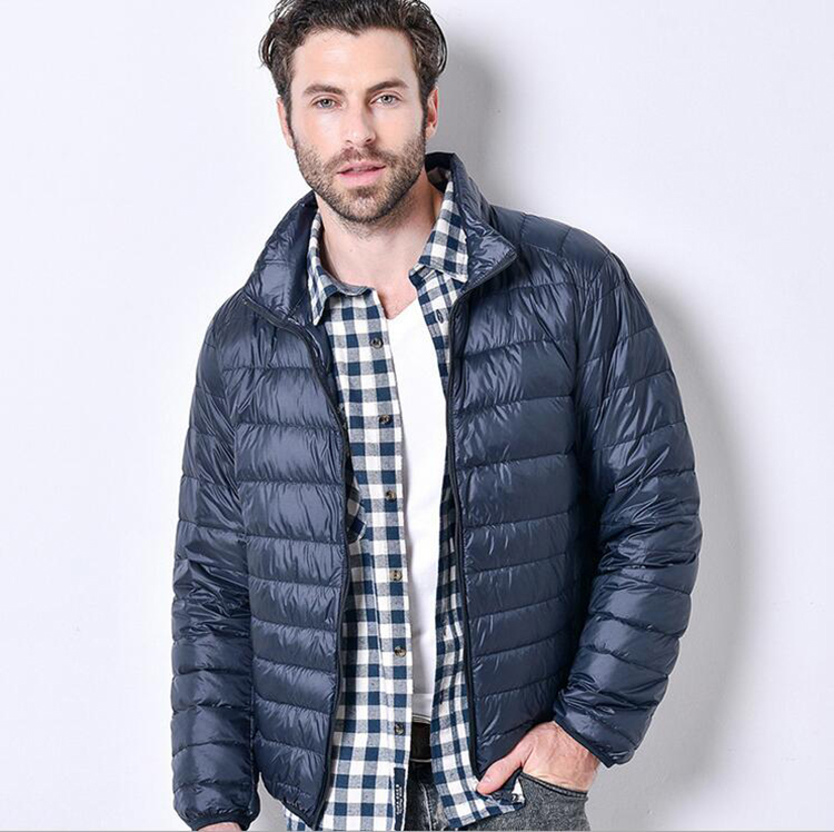 Trustful New Winter Fashion Goose Down Jacket Men Windproof Waterproof Warm White Goose Down Feather Parka Male Casual Coldproof Coat 2019 Official Down Jackets