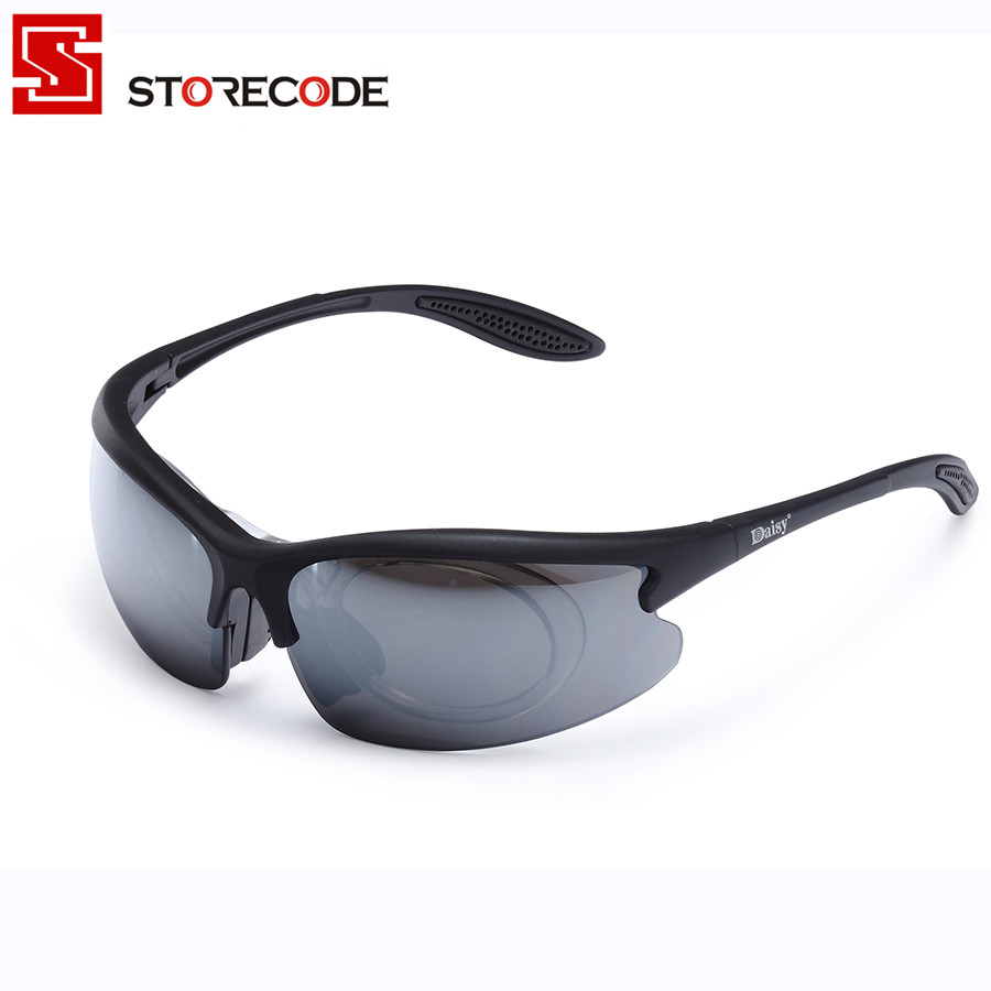 2017 USMC Airsoft x800 Tactical Cycling Eyewear SunGlasses War Games Tactical Goggles Wind-proof Mirrors Black YL832