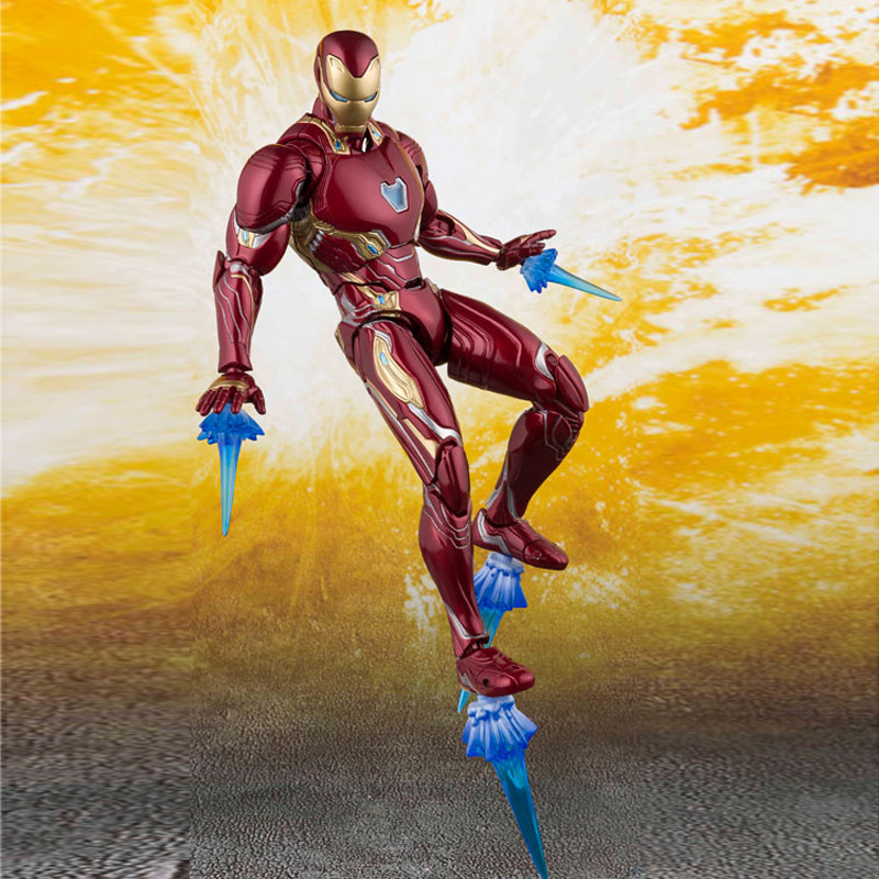 Marvel Avengers SHF Iron Man MK50 accessories with two hand guns Action Figure Collectible Model ToysMarvel Avengers SHF Iron Man MK50 accessories with two hand guns Action Figure Collectible Model Toys