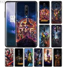 Avengers Infinity War Phone Case for Oneplus 7 7Pro 6 6T Oneplus 7 Pro 6T Black Silicone Soft Case Cover