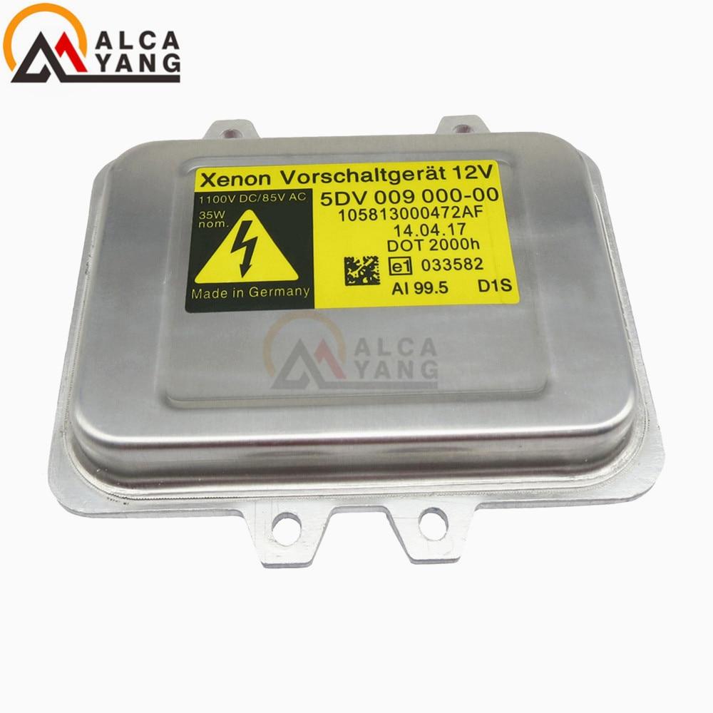 D1S HID Xenon Headlight Ballast Computer Light Control 5DV 009 000-00,5DV009000-00 For BMW Mercedes-Benz Saab Cadillac