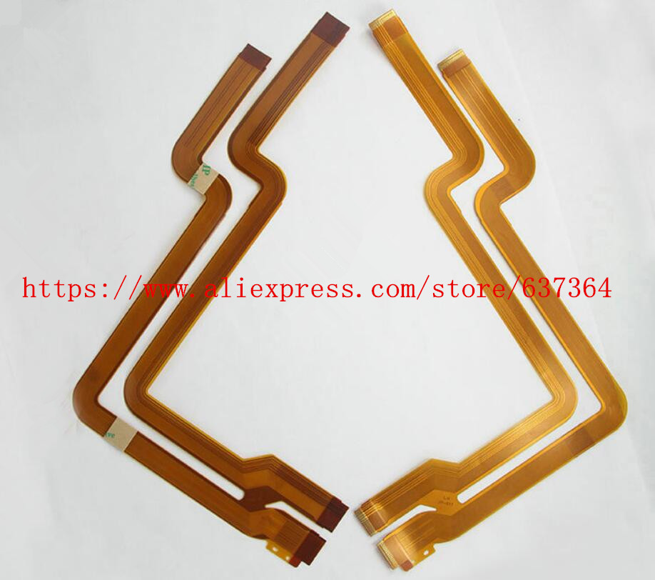 NEW LENS Shaft Flex Cable For Sony Cyber-Shot DSC-F717 DSC-F707 F717 F707 Digital Camera Repair Part image