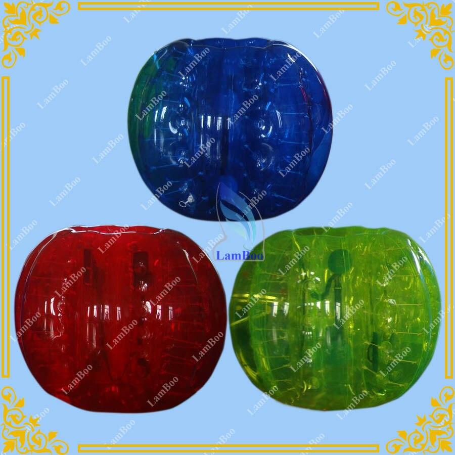 Gros Coloré Gonflable boule de Butoir, Drôle Corps boule de Zorb
