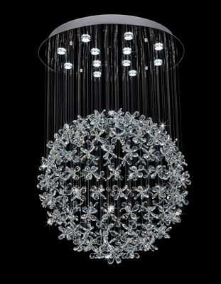 Dimmable New Modern Chandelier Crystal Light Ball Design Living Room Lighting Fixture Large Hall LED Lustres De CristalDimmable New Modern Chandelier Crystal Light Ball Design Living Room Lighting Fixture Large Hall LED Lustres De Cristal