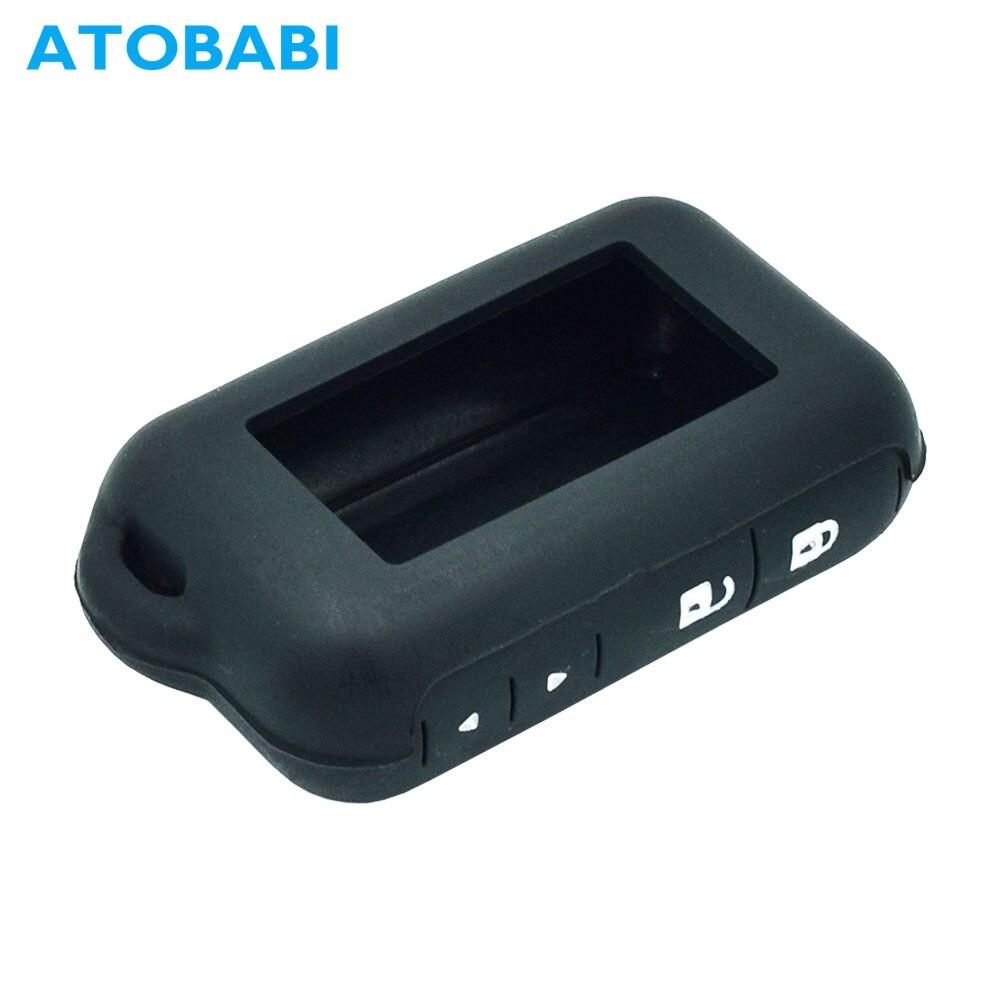 ATOBABI Fob-Cover Remote-Control-Key Silicone-Case Russian E91 Starline E60 E61 Car-Alarm-System