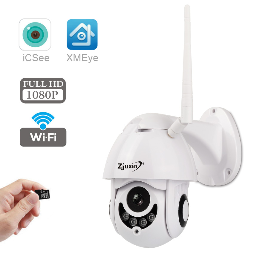 Wifi IP Camera Wireless 1080P 360 HD CCTV Wireless ONVIF Security Waterproof IP66 Outdoor Dome exterieur ip Camera Cam exterior цена