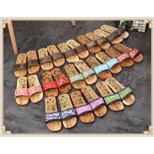 Stone Reflexology Therapy Slippers Foot Massager Wooden Insoles Relaxing Body Massage Shoes Spa for Cellulite Jade Healthy Care foot massage slippers shoes health sandal massages reflexology feet healthy pebble stone massager shoes