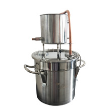 3Gal/12L Home Brew Alcohol Moonshine Distiller With Alcohol Meter Used For Wine And Vodka Making цена