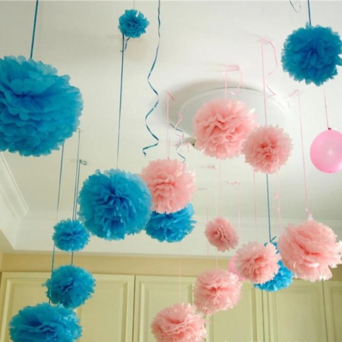 DIY Wedding Decoration 5 pcs Artificial Flower Party Decor Flowers ...