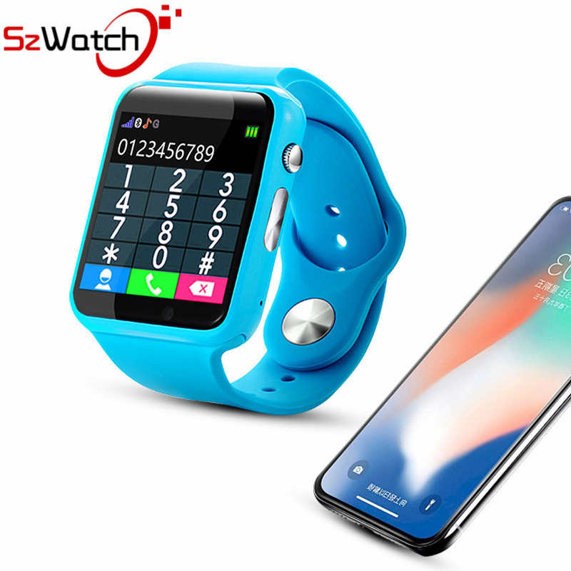 SzWatch A1 Montre Smart Watch Avec Podomètre Caméra Carte SIM Appel M montre Smart watch Pour Android Smartphone Russie avec la boîte de Détail