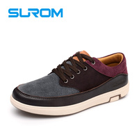 Fashion Men S Leather Casual Shoes Mixed Colors High Quality Cow Suede Lace Up Loafers Men