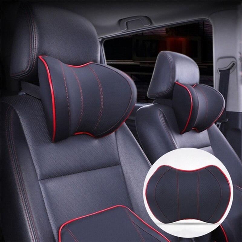 Auto Pillow Headrest-Accessories Massage Seat Car-Cover Neck-Headrest Car-Seat-Head Space-Memory