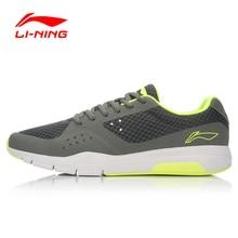 Li-Ning Original Men's Urbak Workout Run Shoes Retro-Walker Sneakers Comfort Walking Shoes Soft Sports Shoes ACGL029