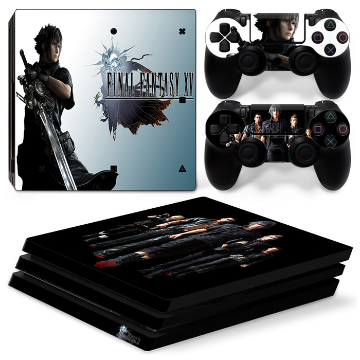 Game Custom For PS4 Pro Skin Stickers,Decal Cover,Vertical Vinyl,Console Controller YSP4P0700#TN-P4Pro-1339