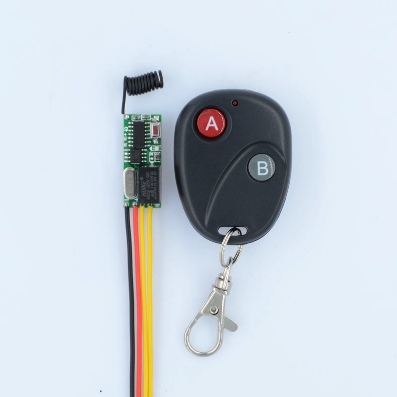 Mini Remote Switch 3V 3.5V 5V 12V Micro Wireless Relay Switch NO COM NC Small Relay Receiver Transmitter Door Lock & Online Get Cheap Door Lock Relay -Aliexpress.com | Alibaba Group Pezcame.Com
