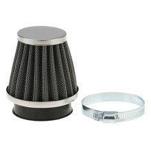Connecteur universel de filtre à Air en caoutchouc pour moto, 50mm, Pod de filtre, ATV