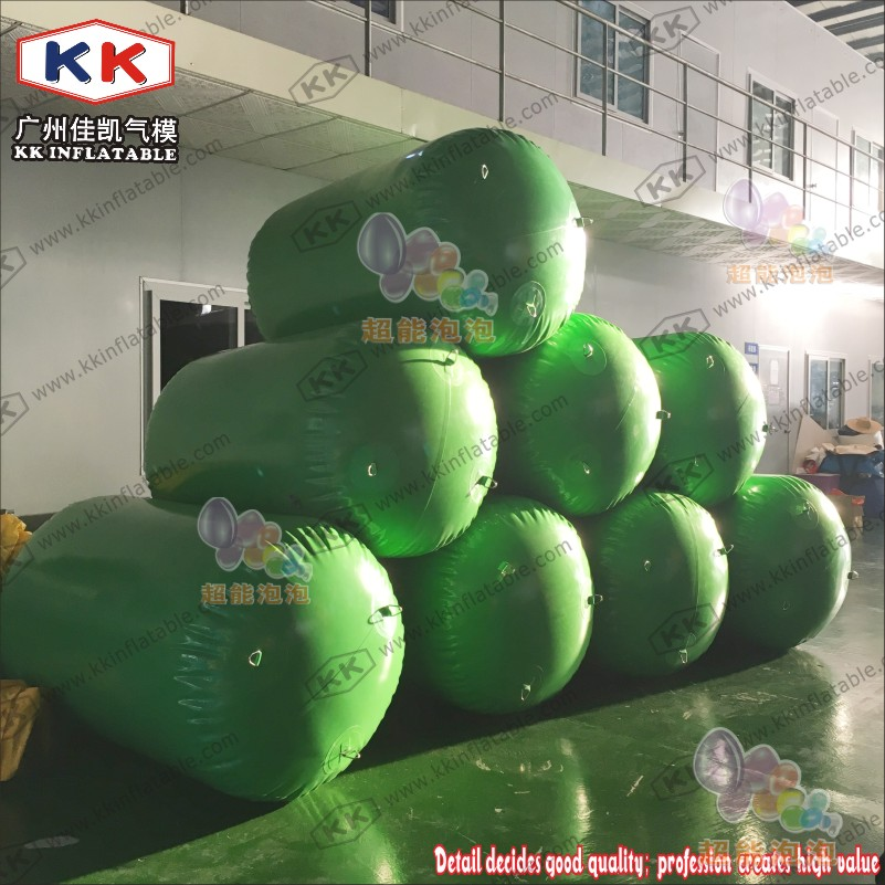pvc inflatable floating buoy for water amusement parkpvc inflatable floating buoy for water amusement park