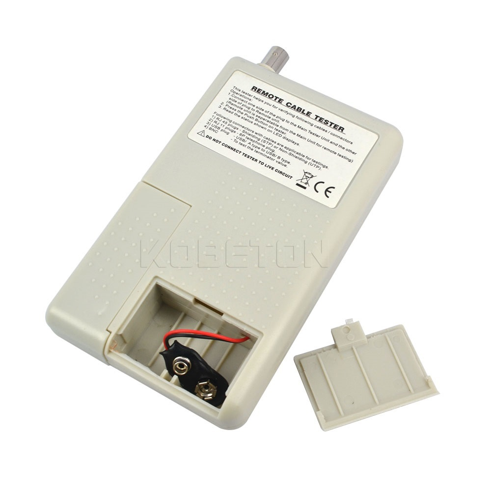 Kebidumei Remote Rj11 Rj45 Usb Bnc Lan Network Cable Tester For Utp Circuit Stp Cables Tracker Detector Good Quality Tool In Networking Tools From