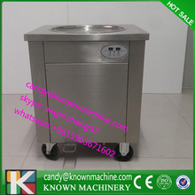 ship to buy home DHL single pan fried ice cream machine,fried ice cream roll machine with 450mm diameter