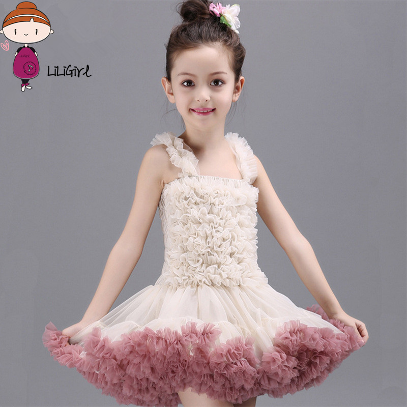 Wedding Girls Dresses Princess Dress Costume For Kids Summer Style Baby Girl Birthday Party Cinderella High Quality Lace Dress princess girls dress high quality kids birthday llong tail wedding piano show red dress children beauty costume free shipping