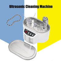 30W 50W Ultrasonic Cleaner 600ml Intelligent Control Mini Ultrasonic Cleaner Bath For Jewelry Glasses Circuit Board
