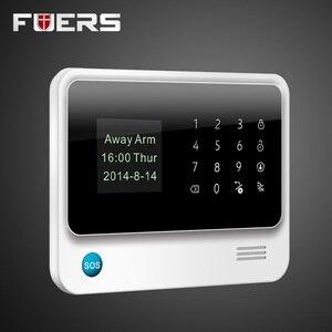 Image 2 - 2019 G90B Plus 2,4G WiFi GSM alarma de Casa GPRS SMS inalámbrica de seguridad de la casa Sistema de alarma contra intrusos IP WiFi Cámara Sensor de humo