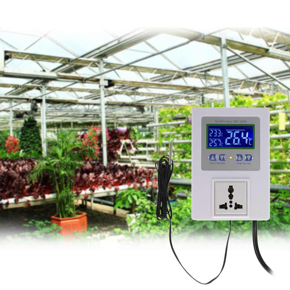 Новый цифровой Интеллектуальный Предварительно проводной регулятор температуры Регулятор с датчиком Отопление термостат переключатель управления Охлаждением