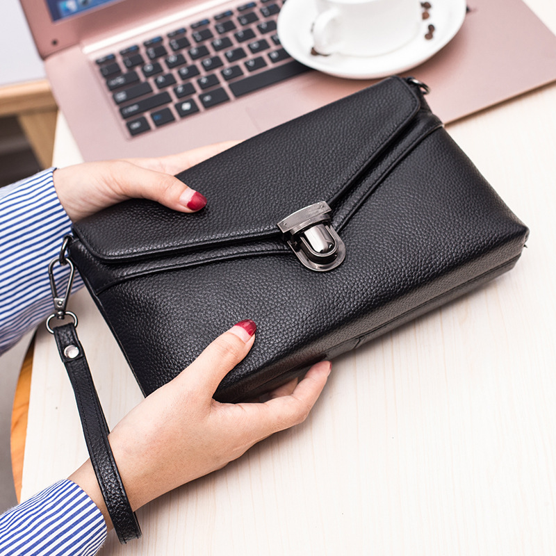 Genuine Leather Women Envelope Clutch Party Purse Bag Female Small Shoulder Crossbody Bags For Handbags Lady Messenger Bag 2018 elizavecca крем для эластичности зоны декольте milky piggy super elastic bust cream 100 мл