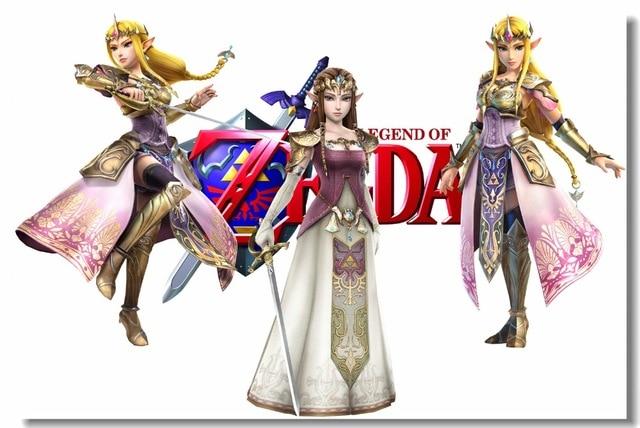 Custom Canvas Wall Decor Legend Of Zelda Poster Twilight Princess