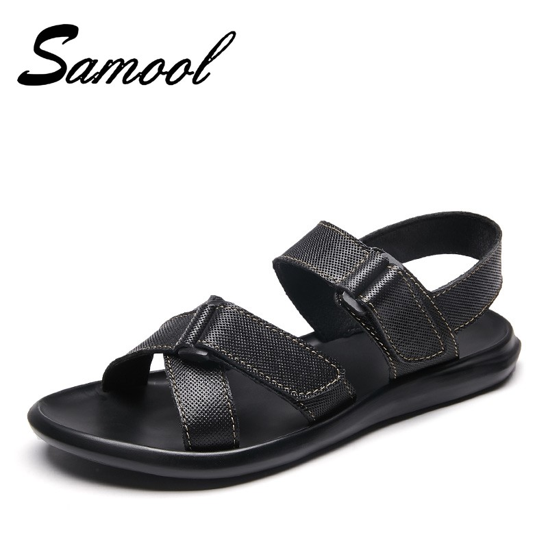Summer Gladiator Mens Beach Sandals Comfortable Outdoor Shoes Roman Men Casual Shoe Flip Flops Large Size 45 Good Quality Gx4