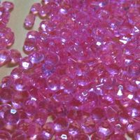 O envio gratuito de DIY mesa de dispersão confetti acrílico decoração festa de casamento do diamante 10000 pçs/lote