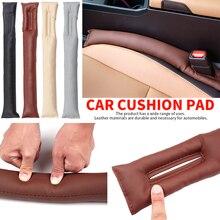 Urijk Black Beige Brown Car Seat Cushion Crevice Gap Stopper