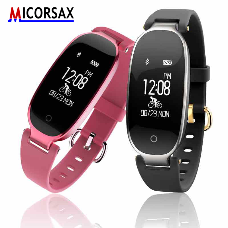 Consumer Electronics Smart Bracelet Band Heart Rate Blood Pressure S09 Fitness Tracker Smart Wristband Support For Android Ios Phone Pk Mi Band 2 S2 Wearable Devices