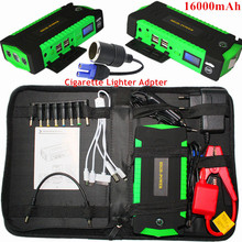 Автомобиль Пусковые устройства 600A пакет Портативный пусковое устройство 4USB Запасные Аккумуляторы для телефонов Зарядное устройство для автомобиля Батарея Booster бензин дизель 12 В стартер ce