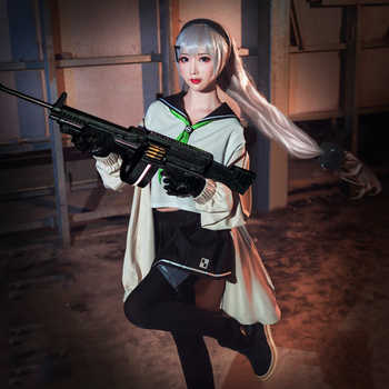 Game Girls Frontline Cosplay Costumes MG4 Cosplay Uniform Costume Halloween Carnival Party Women Cosplay Costume - DISCOUNT ITEM  0% OFF All Category