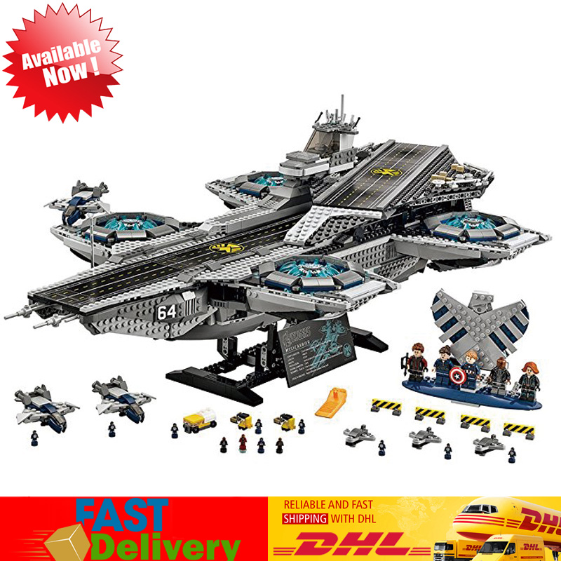 2018 Lepin 07043 3057pcs Super Heroes The Shield Helicarrier Model Building Blocks Bricks Kits Toys Compatible LegoINGlys 76042 lepin 07043 3057pcs super heroes the shield helicarrier model building blocks bricks toys kits for children compatible 76042