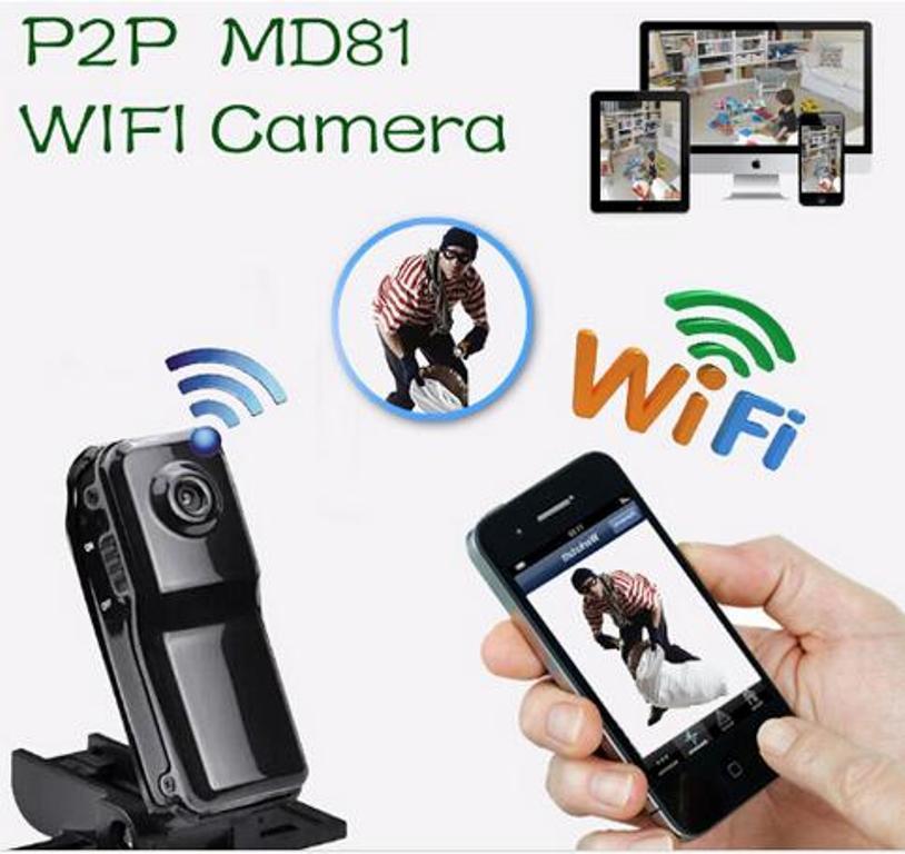 Шпионская камера wi-fi