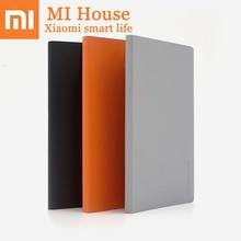 Xiaomi PU записная книжка 2 шт./компл. Mijia 80 страниц три спецификации Многофункциональный бумажный блокнот офисный дневник план Mi шариковая ручка