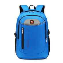 Unisex Brand Laptop Backpack Mens Travel Bags Multifunction Rucksack Waterproof Oxford Black Computer Backpacks For Teenager