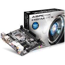 Новый оригинальной аутентичной компьютерные платы для ASRock H81M-ITX МИНИ/1150 материнская плата поддерживает четыре поколения I3 I5 I7